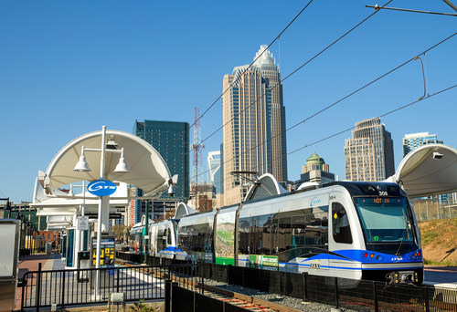 The Charlotte Area Transit System (CATS) inaugurated passenger service on the long-awaited LYNX Blue Line Extension (BLE), thanks to STV, a leading provider of design and construction management services for transportation infrastructure and facilities throughout North America.