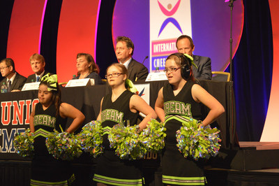 International Cheer Union and Special Olympics Sign a Memo of Understanding