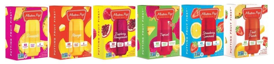 Modern Pop Flavor Line Up