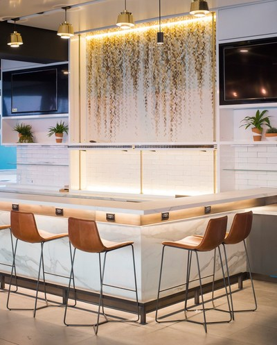 The Alaska Lounge offers our West Coast hospitality and a place to get away from the terminal.