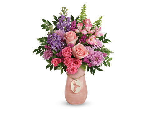 Teleflora's new Winged Beauty Bouquet for Mother's Day 2018