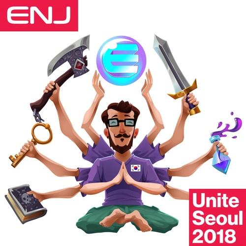 ENJ at Unite Seoul 2018 Korea