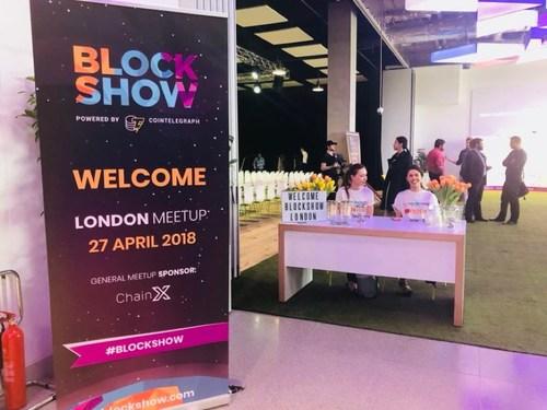Blockshow London 2018 opens today