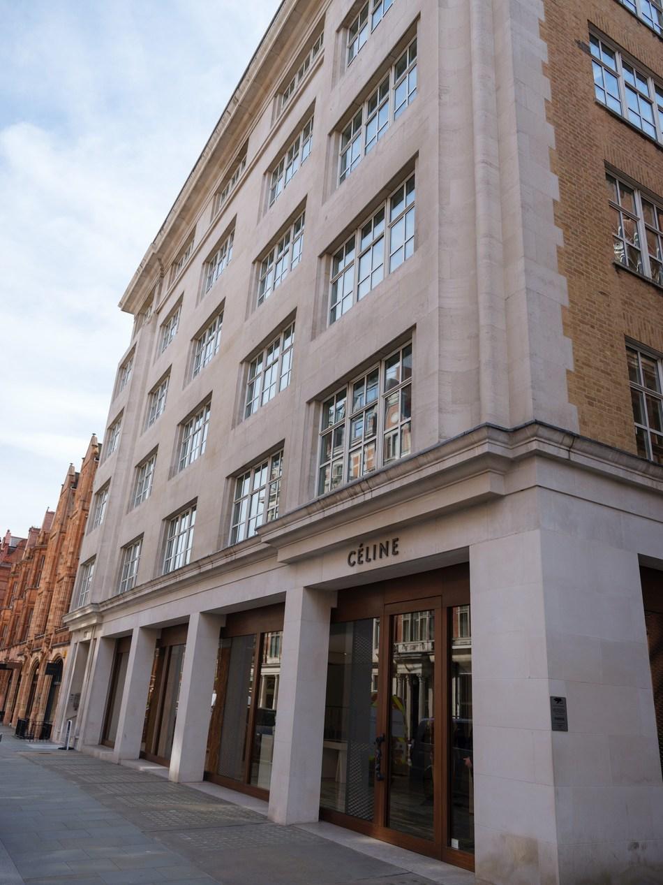 Céline building, Mayfair, London (PRNewsfoto/New Commonwealth)