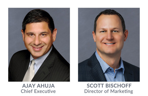 Ajay Ahuja, Chief Executive and Scott Bischoff, Director of Marketing