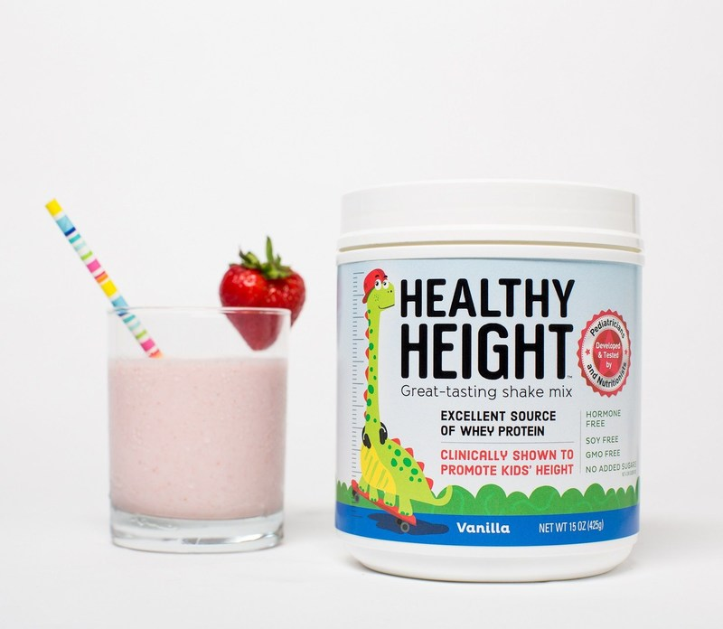 Healthy Height high-protein shake helps children grow (PRNewsfoto/NG Solutions)