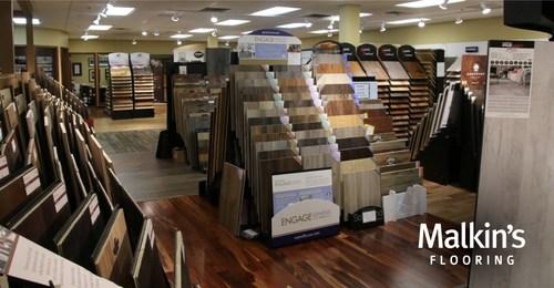 The Malkin's Flooring 18,000 square-foot showroom in Menomonee Falls, WI.