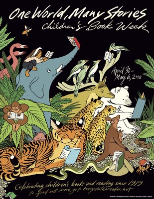 It's Children's Book Week Coast to Coast April 30-May 6