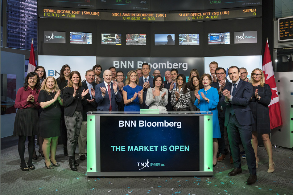 BNN Bloomberg Opens the Market (CNW Group/TMX Group Limited)