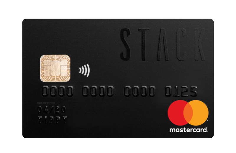 The STACK Triple Black Prepaid Mastercard. (CNW Group/STACK)
