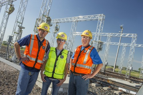 Engaged employees helped Union Pacific become the safest U.S. railroad in employee safety for the third consecutive year.