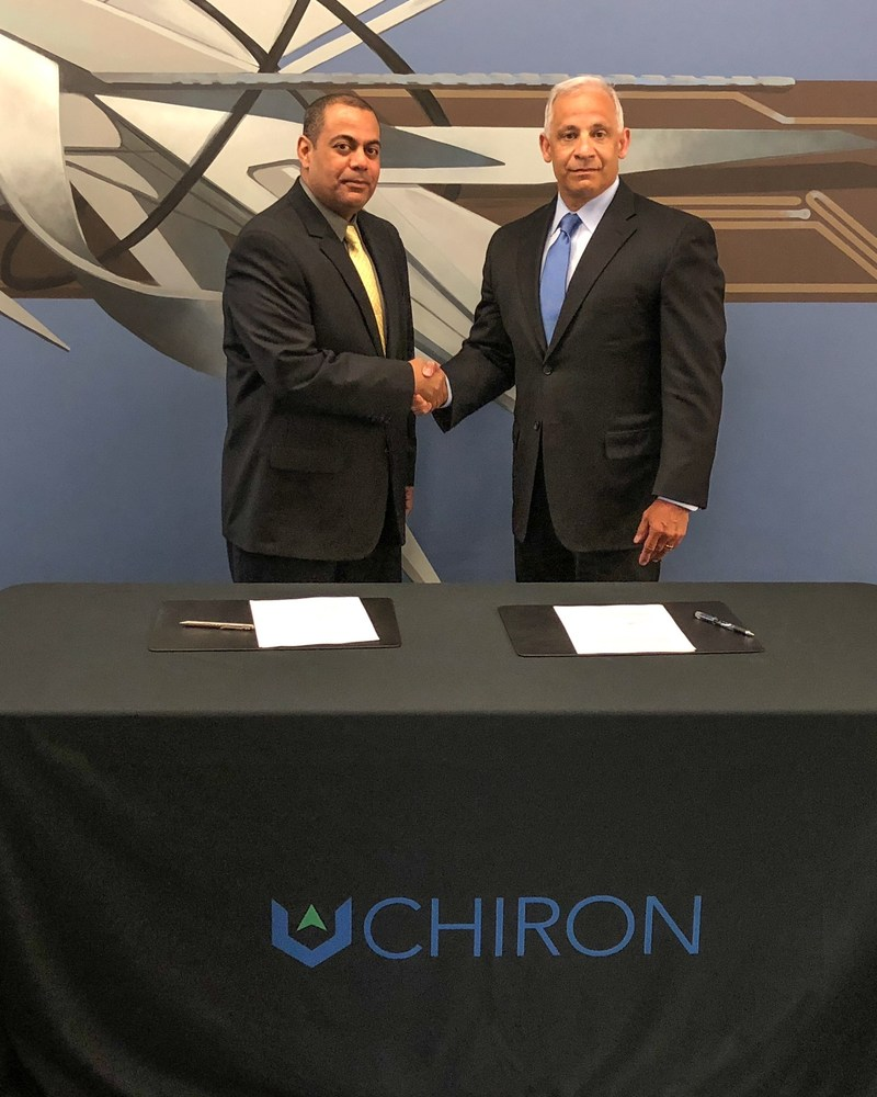 Chiron Signs Mou With Saudi Cyber Security College