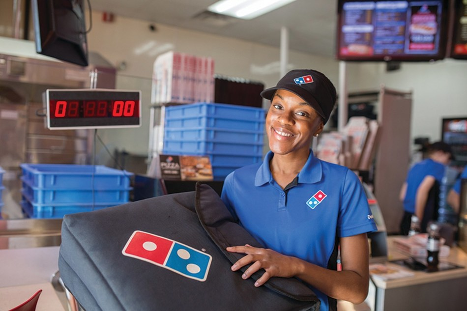 Domino's is looking to hire 820 team members across 41 franchise-owned stores in the Greater Greenville, Spartanburg, Asheville and Anderson areas. All open positions are for delivery drivers, pizza makers and customer service representatives.
