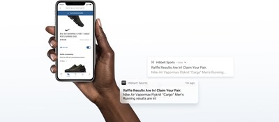ddc877396 Hibbett Sports introduces new mobile app for iOS and Android with new  sneaker raffle features.
