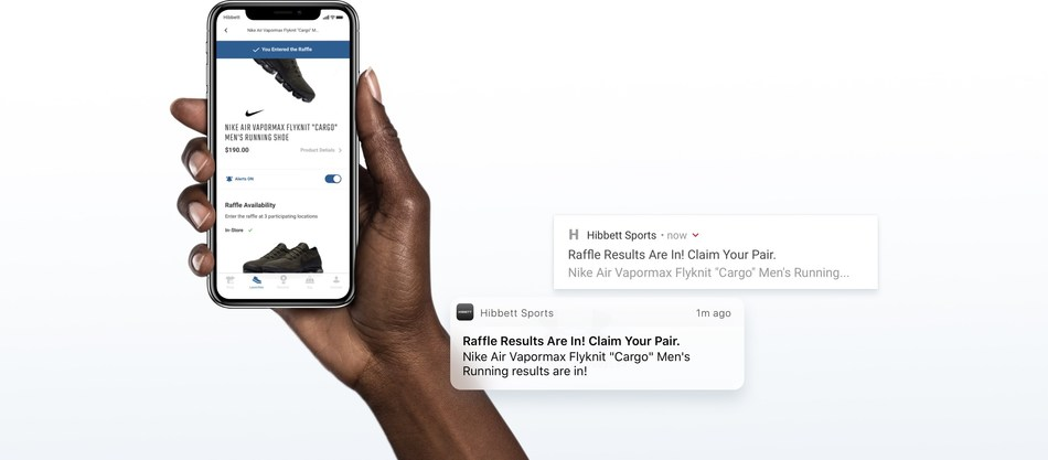 best sneakers d0244 e34e1 Hibbett Sports Introduces New Mobile App Plus Chance To Win ...