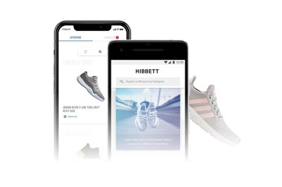 60d02c30a Hibbett Sports Introduces New Mobile App Plus Chance To Win Free Sneakers  For A Year
