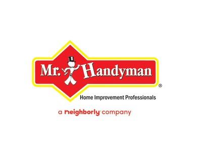 Mr. Handyman, a Neighborly company, is the nation's leading property maintenance, repair and improvement franchise. To learn more, visit: https://www.mrhandyman.com. (PRNewsfoto/Mr. Handyman)