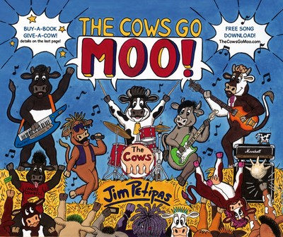 An Udderly Crazy New Children's Book from Boardwalk Books: The Cows Go Moo!