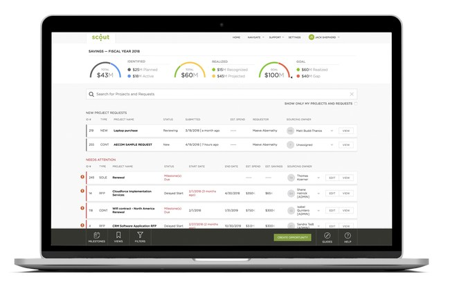 Savings Tracker, the latest addition to Scout RFP's Pipeline too