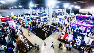 The Expo Floor at eMerge Americas 2018 (PRNewsfoto/Nukondo)