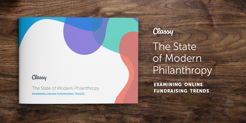 Classy's brand new report, The State of Modern Philanthropy: Examining Online Fundraising Trends, dissects millions of data points about online fundraising and the modern supporter's journey.
