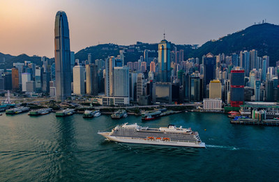 Viking Sun arrives in Hong Kong during its first-ever sold-out 2018 World Cruise. The ship will return to Hong Kong in 2020 as part of Viking's new 245-day Ultimate World Cruise. For more information, visit www.vikingcruises.com.