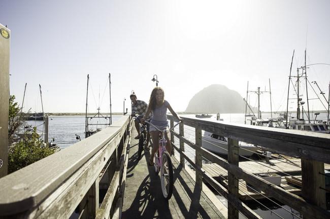 Visit bike friendly Morro Bay this May, National Bike Month.
