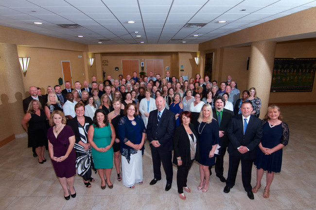 Oasis corporate staff and franchisees