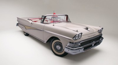 Pizza Inn, America's Hometown Pizza Place, launches car tour and giveaway of 1958 Ford Fairlane Skyliner for 60th Anniversary