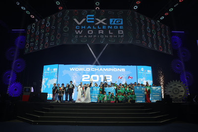 VEX IQ Challenge Middle School & Elementary School World Championship winners at VEX Worlds 2018.