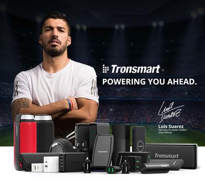 Luis Suárez becomes Tronsmart Brand Ambassador.