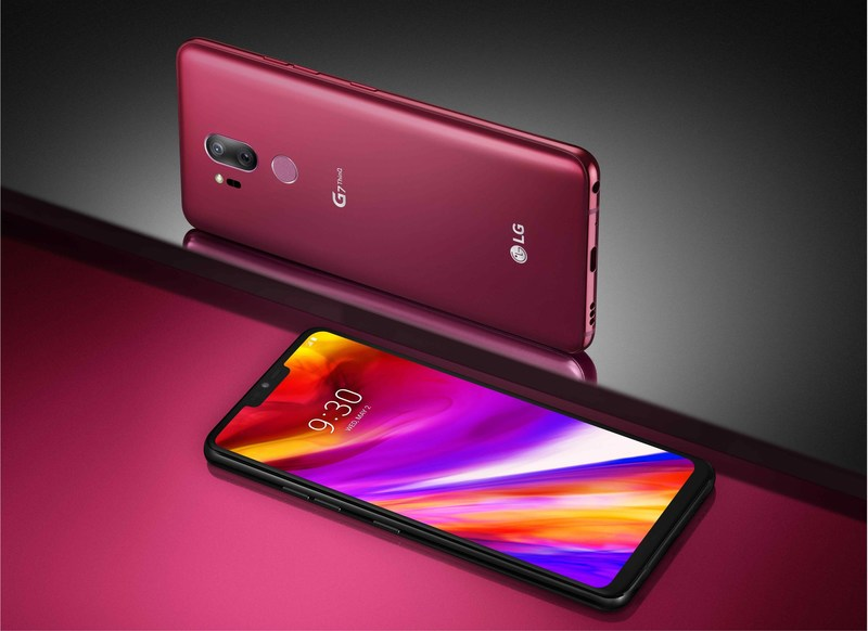 LG G7 THINQ OFFERS DEEP AI INTEGRATION  FOR MAXIMUM USER CONVENIENCE A Complete Premium Smartphone with an Advanced Processor,  Brilliant Display, Booming Audio and Intelligent Camera