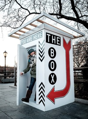 "A revolutionary intersection of art and medicine, ""The Box"" is a socially-conscious, collaborative, public art installation created by Artist Ryan Cronin of CronArtUSA, alongside Go Doc Go Founder Maggie Carpenter, MD. ""The Box"" will be at Old Stone House in Park Slope, Brooklyn from 12-5pm on May 12th. This one-day event provides a safe place where participants ages 30 to 65 can privately self-collect a sample to be screened for the HPV virus, the leading cause of cervical cancer."