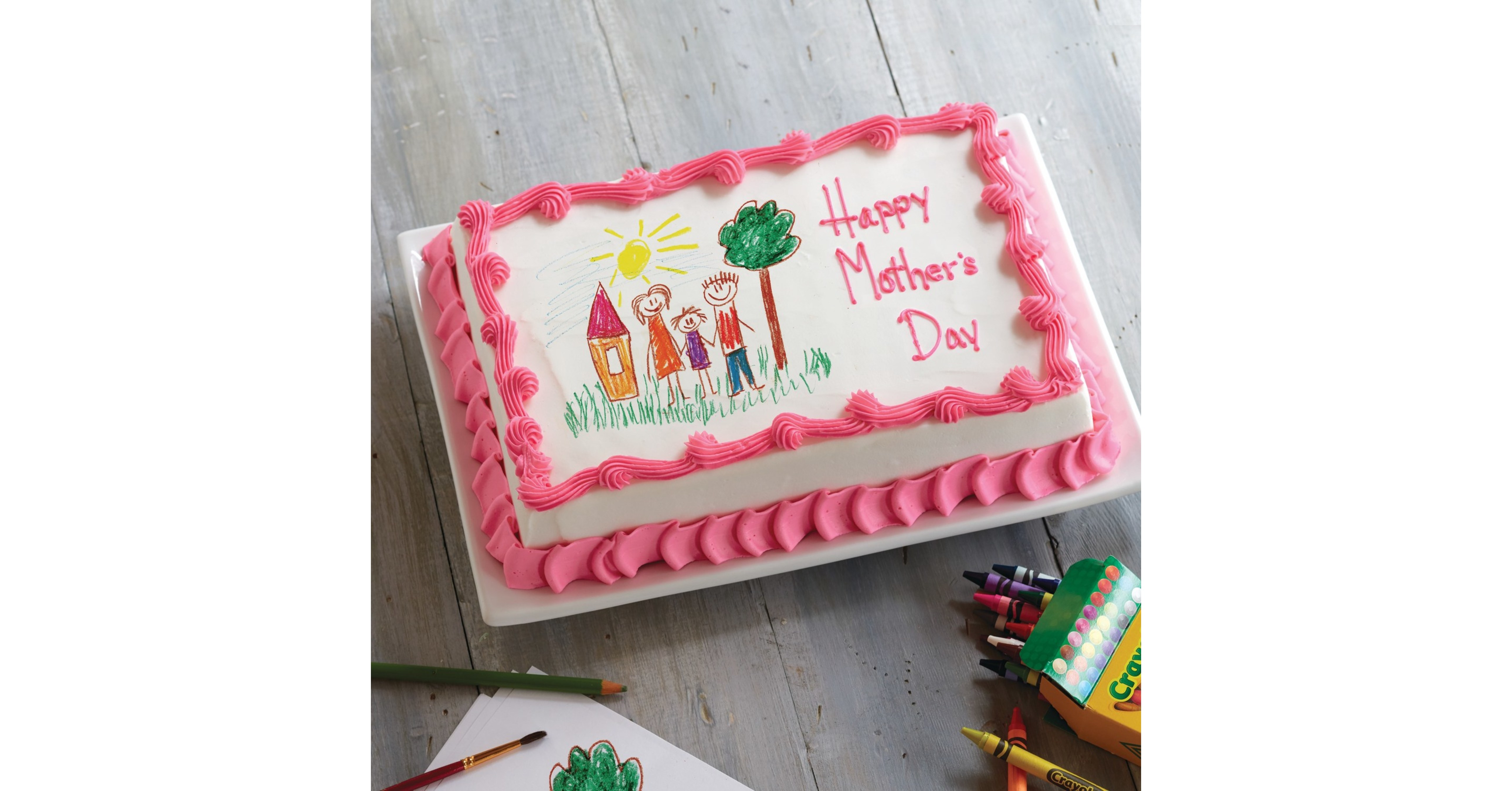 Pleasing Carvel Launches Customized Card On A Cake Campaign This Mothers Day Funny Birthday Cards Online Necthendildamsfinfo