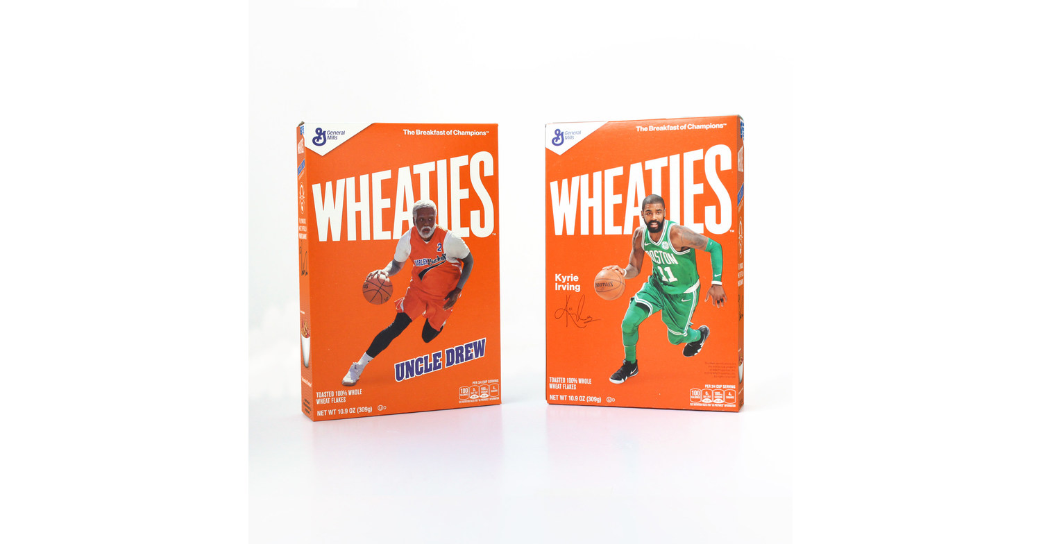 27c7bc5e1b02 Wheaties™ Launches Box Featuring Basketball Superstar Kyrie Irving and His  Title Character from Lionsgate s Upcoming Film