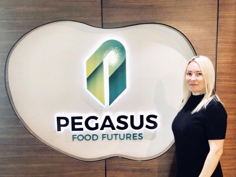 Kristina Williams, newly appointed Head of Finance at the Pegasus Food Futures office in Abu Dhabi (PRNewsfoto/Pegasus Food Futures)