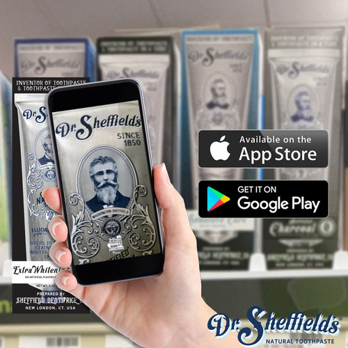 Join Dr. Sheffield in the world of Augmented Reality, as he shares his time-tested secrets to historically natural toothpaste.