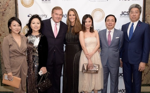 Ms. Diana Wang, Ms. Ling Wang, Governor Tom Ridge, Stephanie Winston Wolkoff, Ms. Audrey Cheung, Dr. Dexter Sun, Mr. Percy Tsao