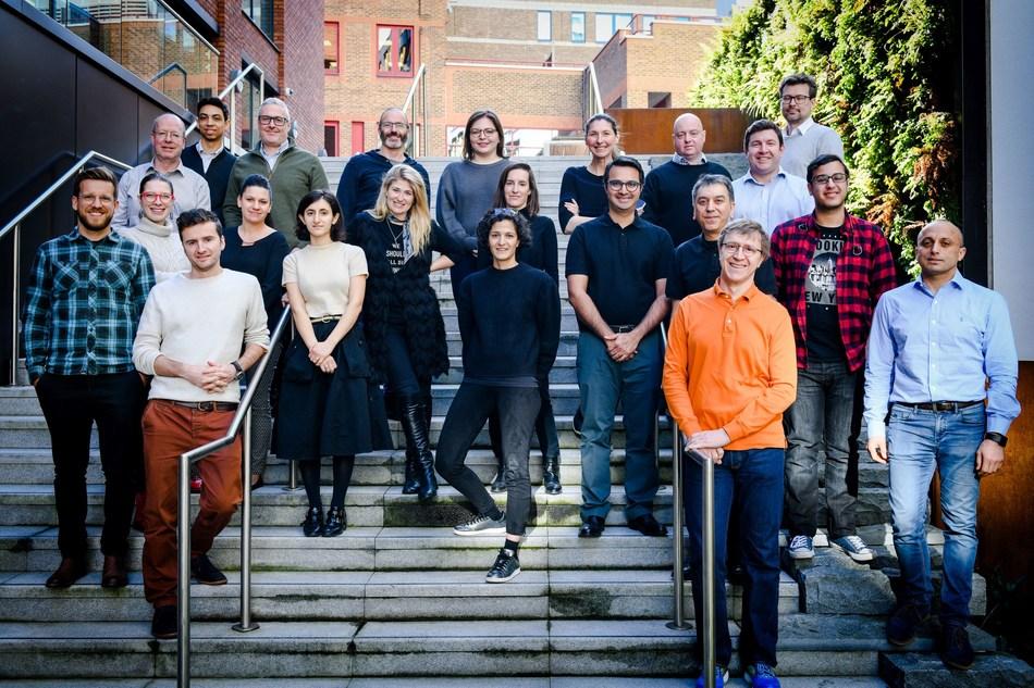 The IoT Venture Studio UK graduating class of 2018 (PRNewsfoto/R/GA Ventures)