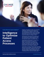 Change Healthcare Acuity Revenue Cycle Analytics - Intelligence to Optimize Patient Access Processes