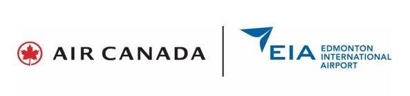Logos: Air Canada; Edmonton International Airport (CNW Group/Air Canada)