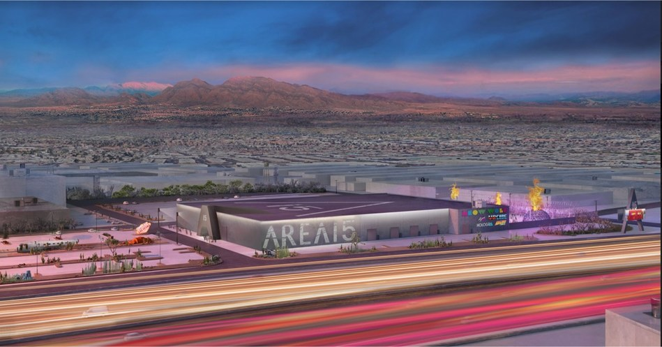A rendering of AREA15, a wholly reimagined retail, art and entertainment complex opening in Las Vegas late 2019. Credit -  A+I (Architecture Plus Information)