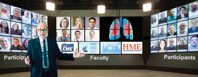 myCME TOWN WALL� is powered by Pando�, an innovative new face-to-face virtual meeting platform