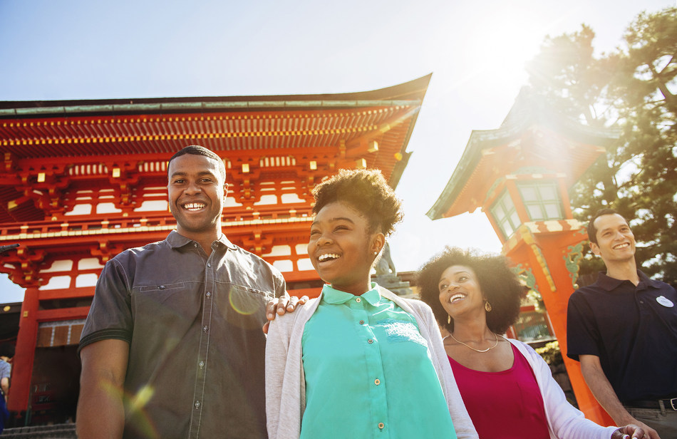 In 2019, Adventures by Disney travelers will experience the captivating culture and rich diversity of Japan during a brand-new itinerary, with expeditions ranging from peaceful pastoral areas to fast-paced modern cities. (Chloe Rice, photographer)