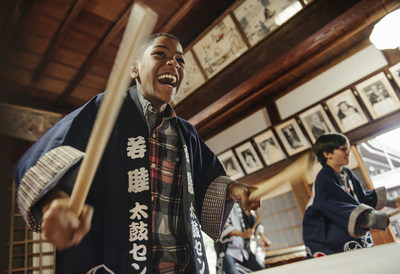 In 2019, Adventures by Disney travelers will experience the captivating culture and rich diversity of Japan, where they'll take part in exciting and culturally enriching activities, such as learning the art of Taiko drumming. (Chloe Rice, photographer)