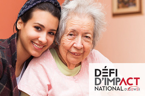 Lancement d'une compétition nationale en vue de trouver des idées novatrices pour favoriser le vieillissement en santé (Groupe CNW/AGE-WELL Network of Centres of Excellence (NCE))