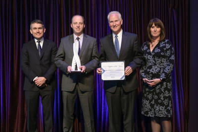 Quaker Receiving Award from Fiat Chrysler Automobiles US