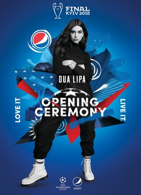 UEFA & Pepsi® Announce New Rules For UEFA Champions League Final Opening Ceremony Presented By Pepsi