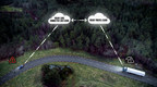 Connected Safety. Volvo trucks and Volvo cars can now alert each other to traffic hazards, for instance to obstacles in the road. When the driver activates the vehicle's hazard warning lights, a signal is transmitted to the Volvo Cars cloud service. From there the information is relayed to the corresponding service at Volvo Trucks. An alert is then transmitted to connected trucks and cars approaching the location of the vehicle with the activated hazard warning lights. (PRNewsfoto/Volvo Trucks)
