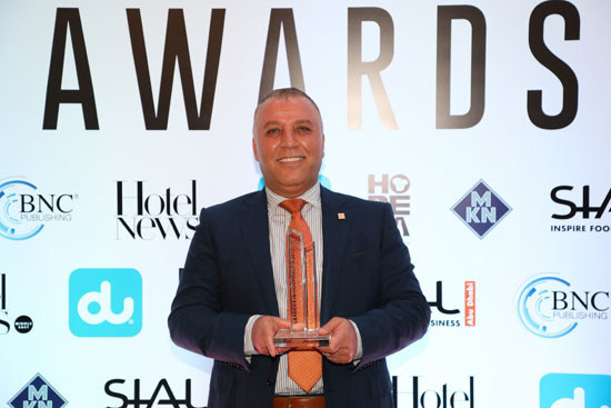 Ghassan Aboud Receiving the 'Leading Hospitality Investor'